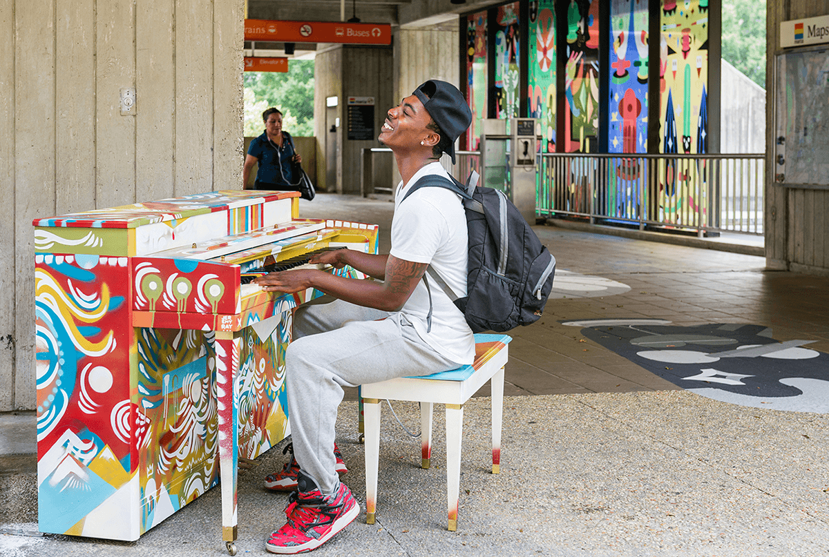 """""""The Porch"""" at Arts Center Station"""